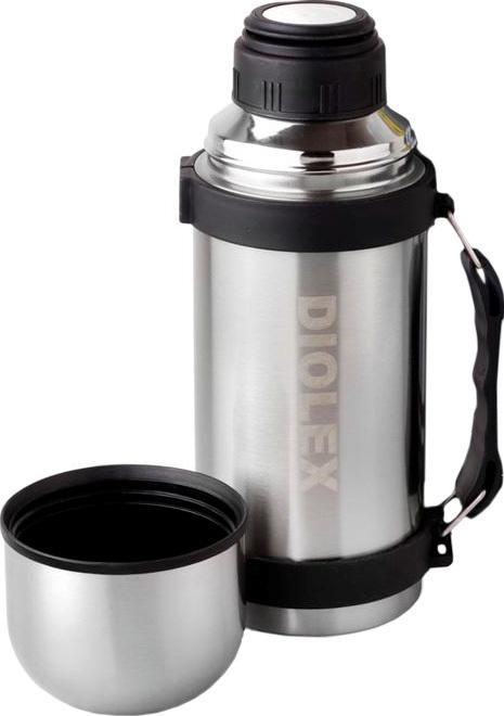 Термос для напитков Diolex DXT с кнопкой - полный комплект
