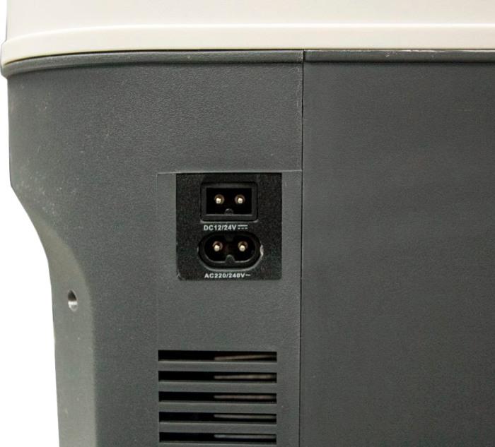 Автохолодильник Vector Frost VF-22 AC/DC - разъёмы электропитания