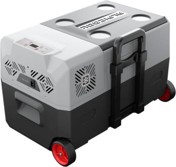 Компрессорный автохолодильник Alpicool CX30 - крышка и телескопическая ручка