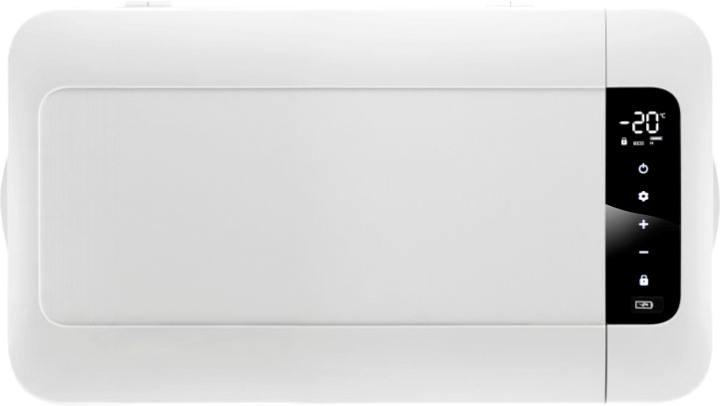 Компрессорный автомобильный холодильник Alpicool MK25 - вид сверху