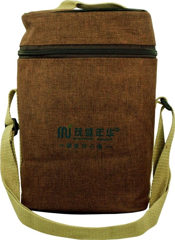 Термос Mao Sheng 1,8 литра с тремя контейнерами из нержавеющей стали - текстильный чехол