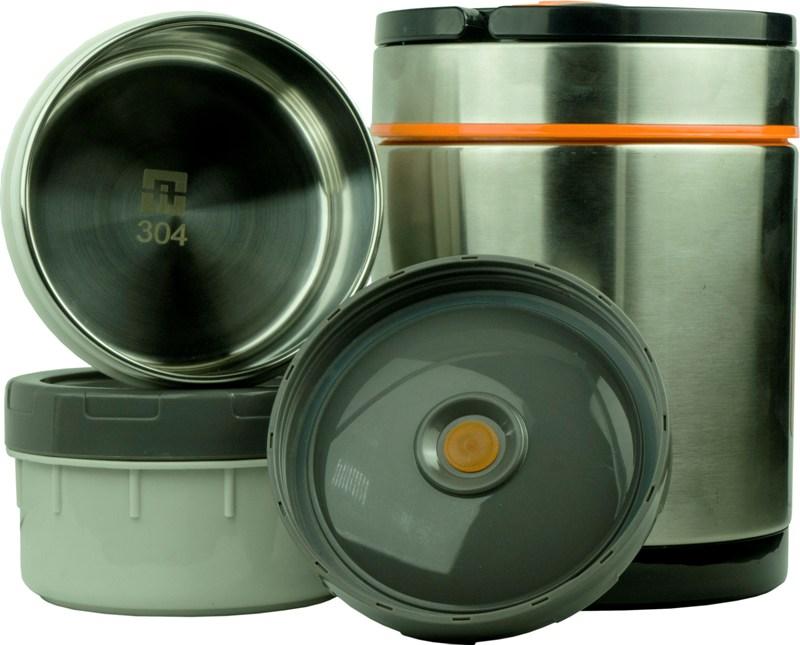 Термос Steel Food S 1,4 литра - два судочка для еды
