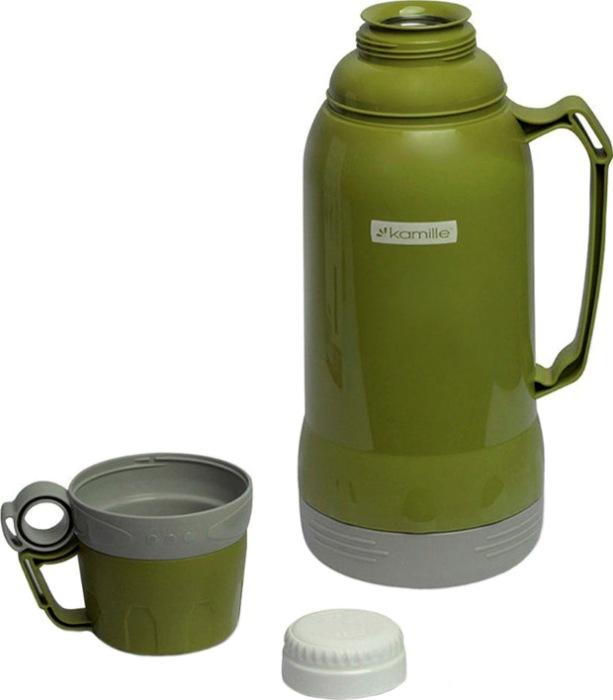Термос со стеклянной колбой Kamille 1 и 1,8 литра - разбор