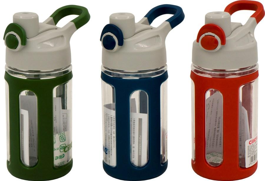 Спортивная бутылка с поилкой Cille Trio для воды - варианты цвета