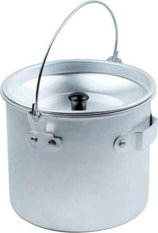 Котелок походный алюминиевый ECOS Camp 1,3 литра - удобная форма
