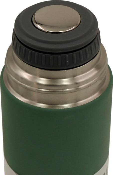 Подарочный набор Steel термос 500 мл и две кружки по 150 мл - пробка с кнопкой