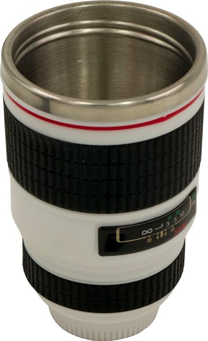 Термостакан-объектив Lens 350 мл - стальное горло