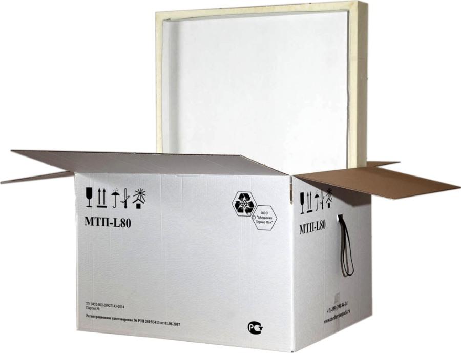 Термоконтейнер МТП - L80 123 литра - удобная форма