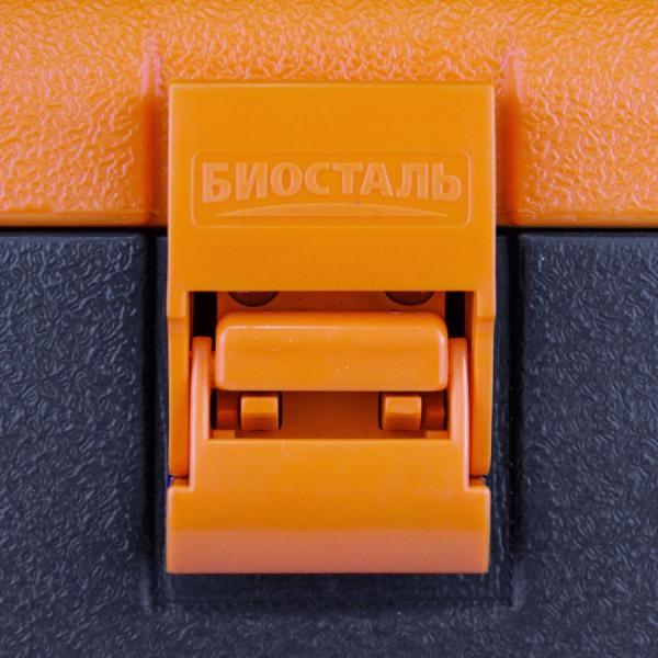 Термоконтейнер Биосталь CB-G 30 и 60 литров для продуктов - пластиковые защёлки