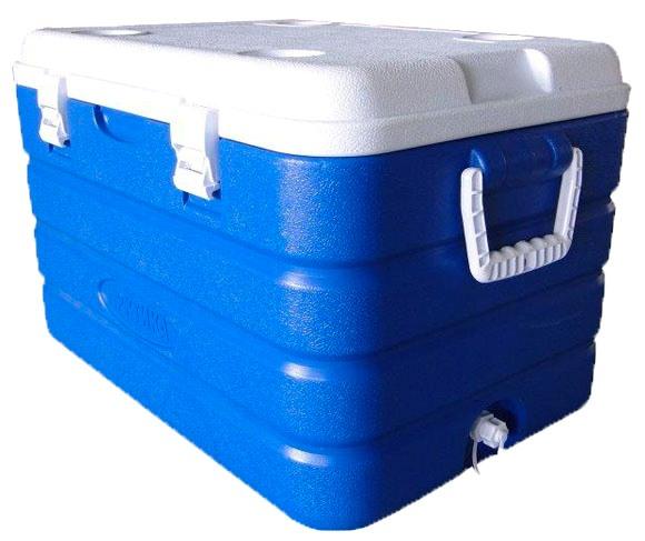 Изотермический контейнер Арктика 2000 серии 60 литров - защёлки на крышке
