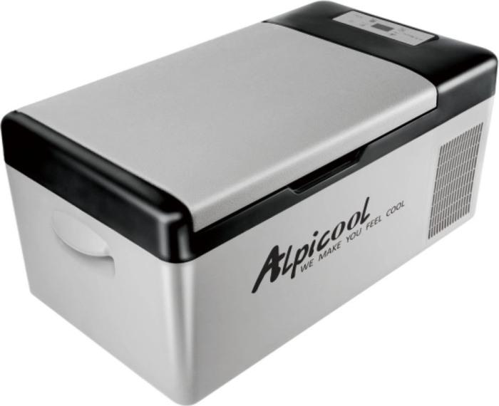 Компрессорный автомобильный холодильник Alpicool C15 - удобный и стильный дизайн