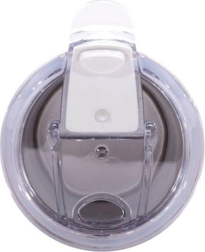 Термостакан Kamille Textured с силиконовой вставкой 380 мл - пробка с поилкой