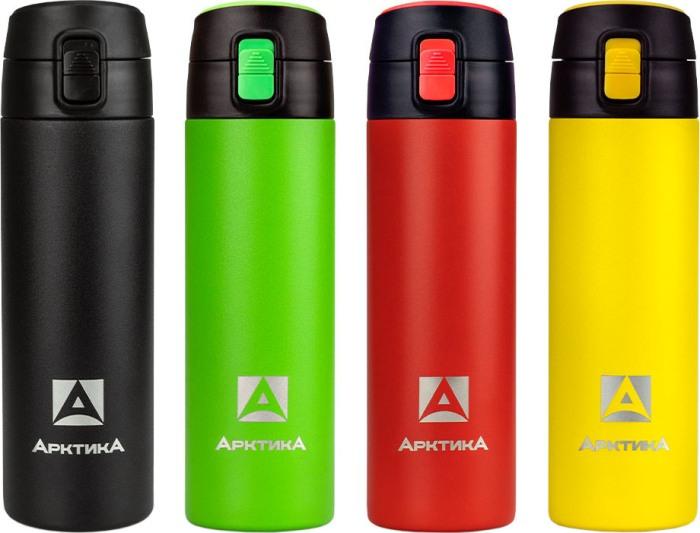 Термос питьевой Арктика 705-500P серии с поилкой - варианты цвета