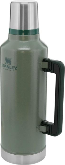 Термос Stanley Classic Legendary Bottle 2,3 литра - боковая прорезиненная ручка