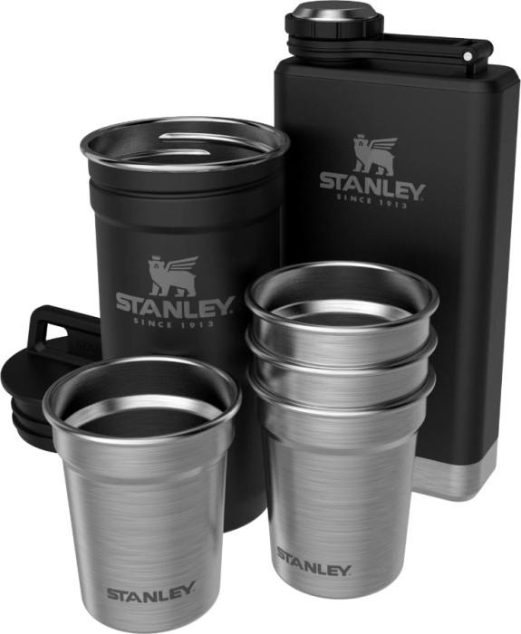 Набор Stanley Adventure Pre-Party Shot Glass + Flask Set - полный комплект
