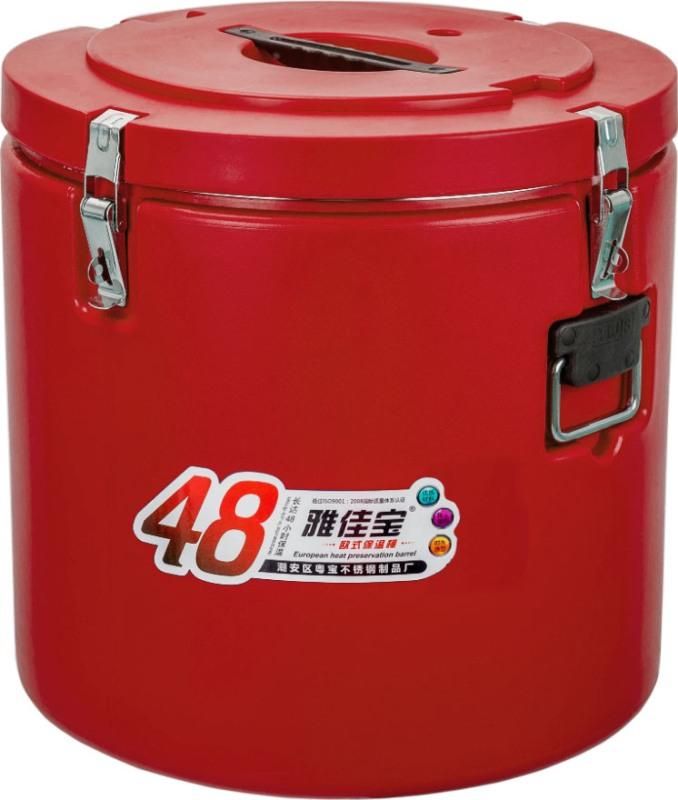 Профессиональная термобочка Barrel для еды - удобная форма