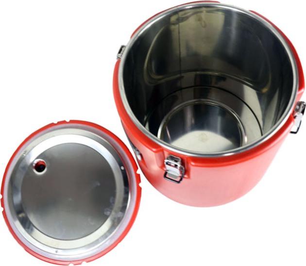 Профессиональная термобочка Barrel для еды - внутренняя ёмкость из пищевой нержавеющей стали