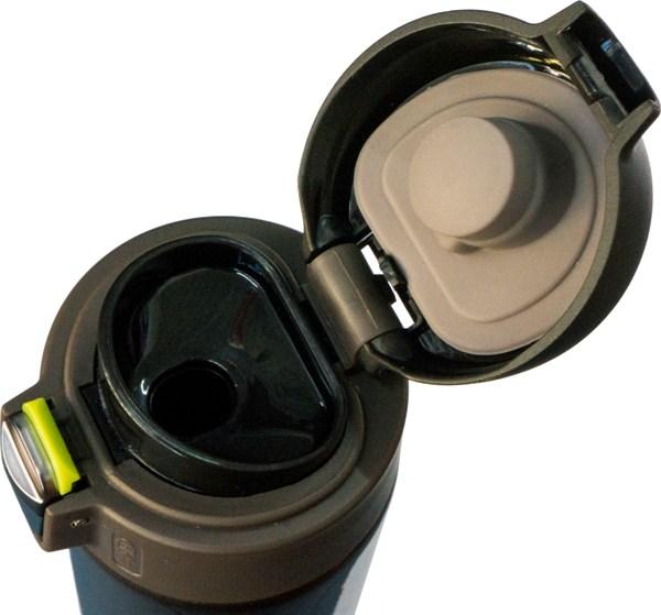 Термостакан с поилкой Steel Brown 500 мл - крышка с поилкой и силиконовым уплотнителем