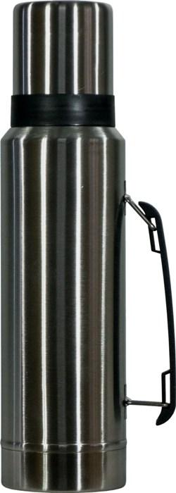 Термос для напитков Steel Vacuum Bottle 1 литр - удобная форма