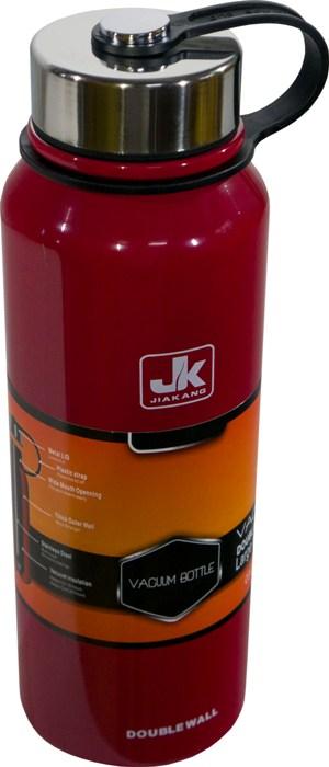 Термос-фляга с ситом для напитков Steel Jiakang 1100 мл - удобная форма