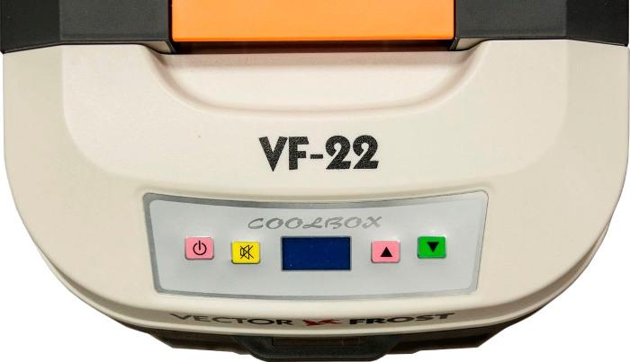 Автохолодильник Vector Frost VF-22 AC/DC - панель управления