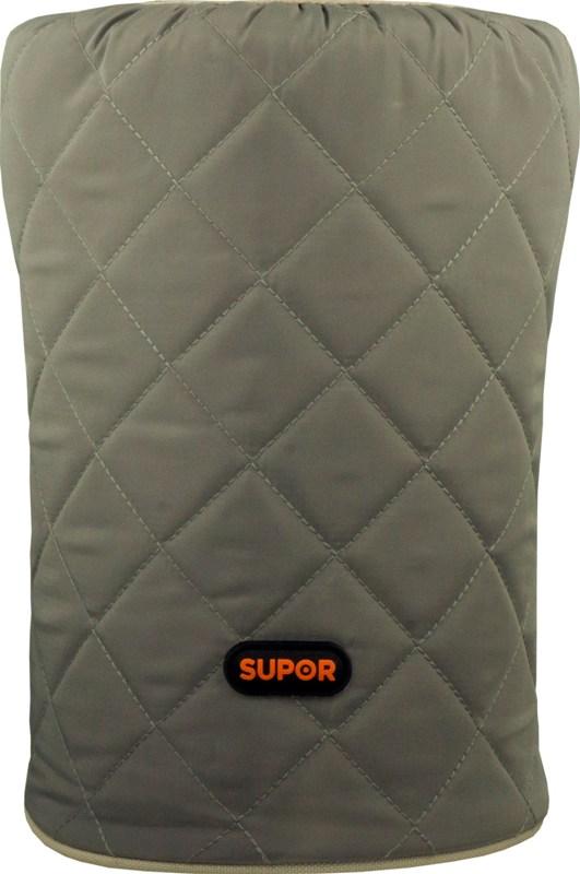 Термос Supor 2 литра с тремя контейнерами из нержавеющей стали - текстильный чехол