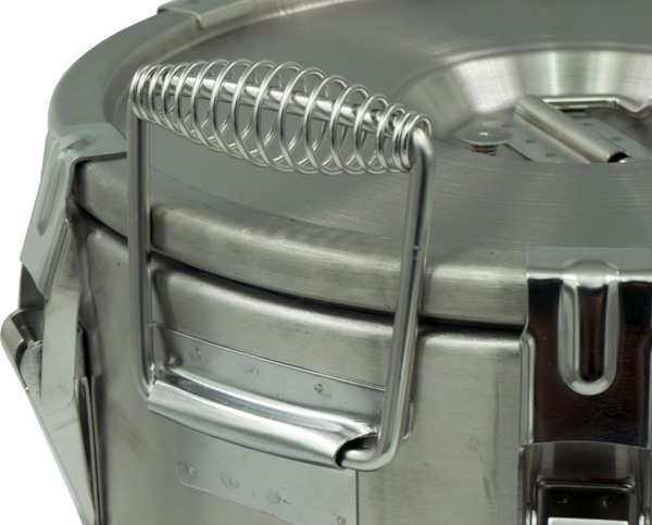 Профессиональный термос Viatto для еды - металлические ручки