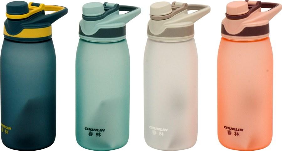 Бутылка Chun Lin Matte с поилкой 600 и 750 мл для воды - варианты цвета
