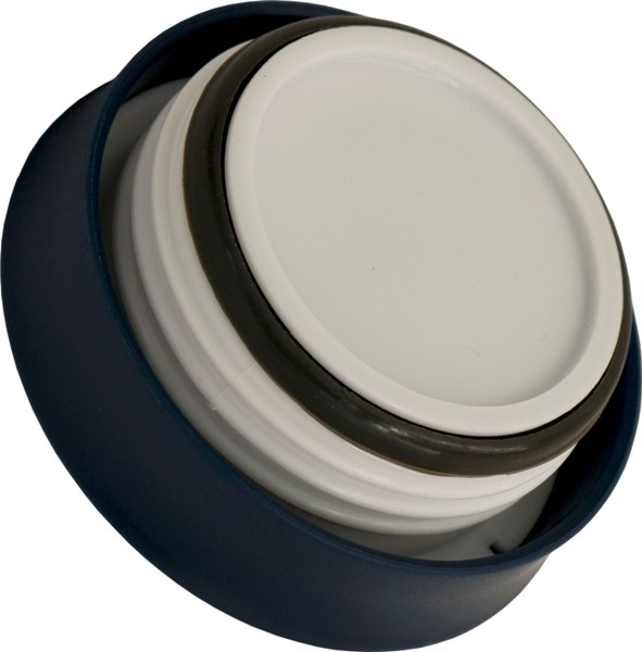 Термос-кружка для напитков Steel Office Cup 520 мл - глухая крышка