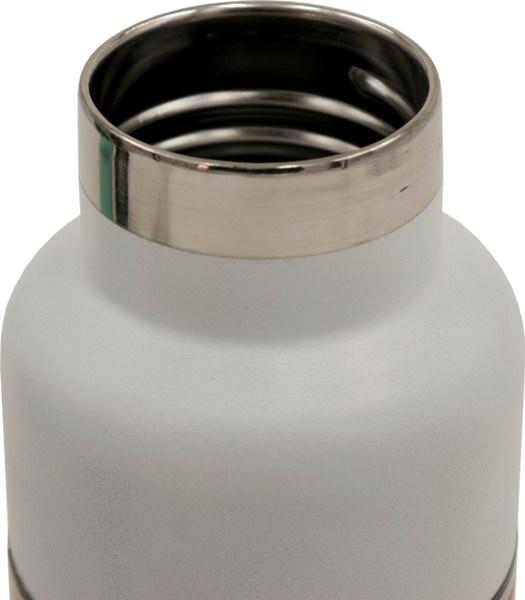 Подарочный набор Steel термос-фляга 500 мл и две кружки по 150 мл - стальное горло