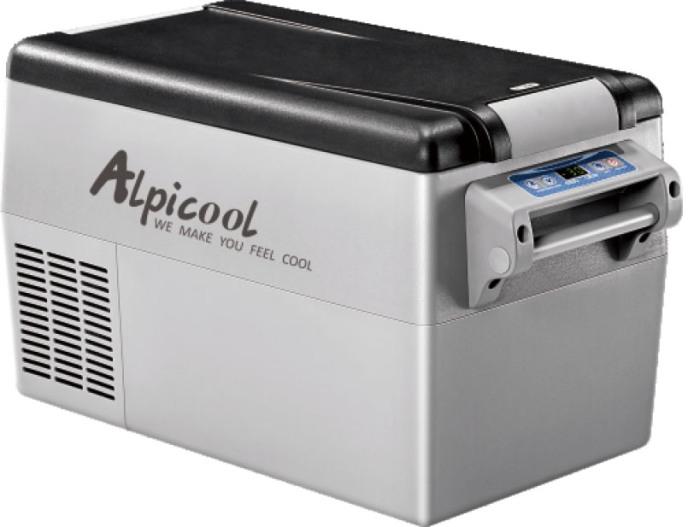 Компрессорный автомобильный холодильник Alpicool CF35 - удобный и стильный дизайн