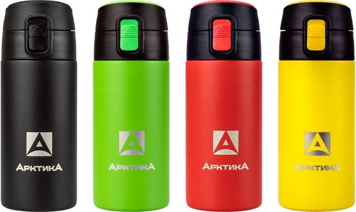 Термос питьевой Арктика 705-350P серии с поилкой - варианты цвета