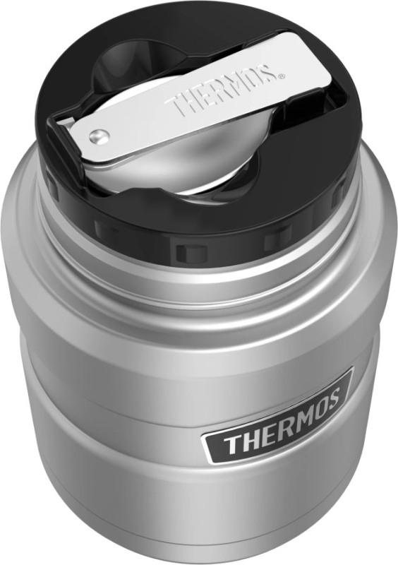 Термос суповой Thermos King SK-3000 470 мл - глухая пробка и ложка