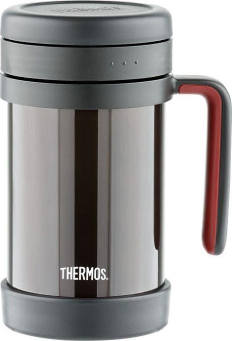 Кружка-термос Thermos TCMF 500 мл с ситом - классический дизайн