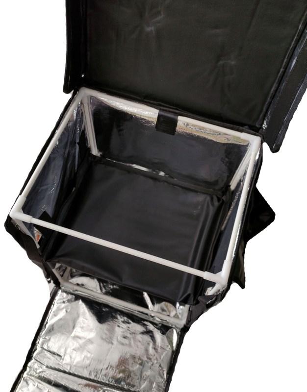 Терморюкзак для доставки продуктов и еды Delivery Backpack 45 литров - каркас и внутренний материал