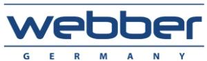 Китайский термос Webber с колбой из стекла - логотип компании производителя