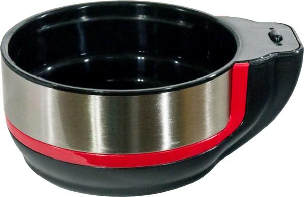 Термос для напитков Steel Red Line с кнопкой - крышка-чашка