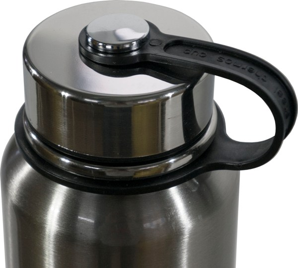 Термос-фляга с ситом для напитков Steel Jiakang 1100 мл - пластиковая ручка