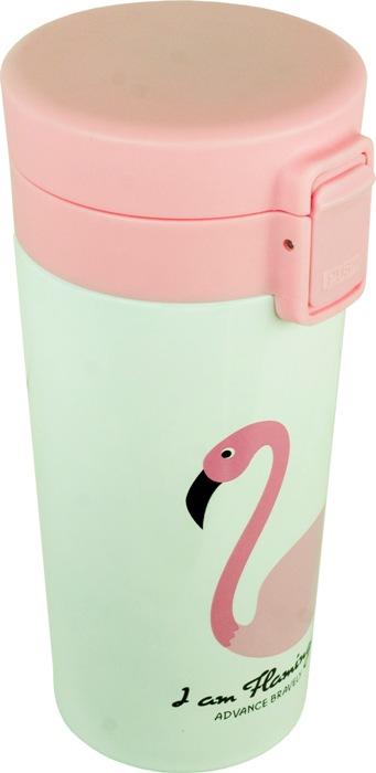 Термокружка Flamingo с поилкой 350 мл - удобная форма