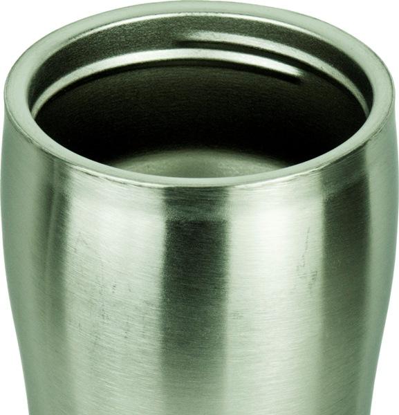 Термокружка Steel Elegant с поилкой 320 мл - стальное горло