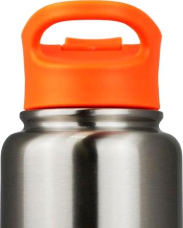 Спортивный термос-бутылка Biostal NHF для напитков - крышка с петлёй