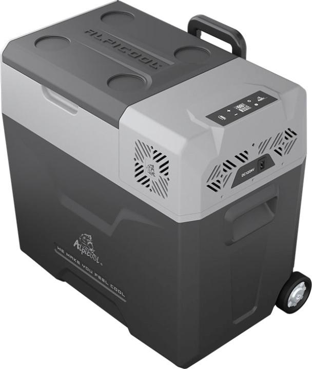 Компрессорный автохолодильник Alpicool CX50-S - надёжная крышка