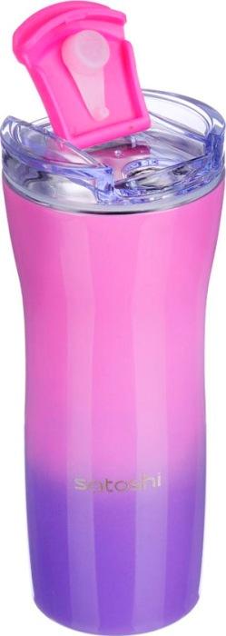 Термокружка для напитков Satoshi Gradient 600 мл - широкое горло