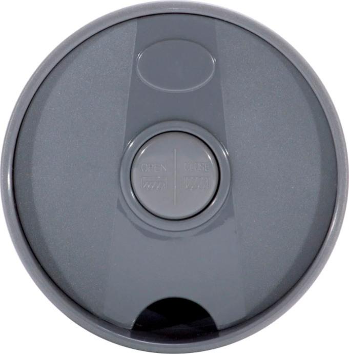 Термокружка с кнопкой Kamille dark 500 мл - пробка с кнопкой