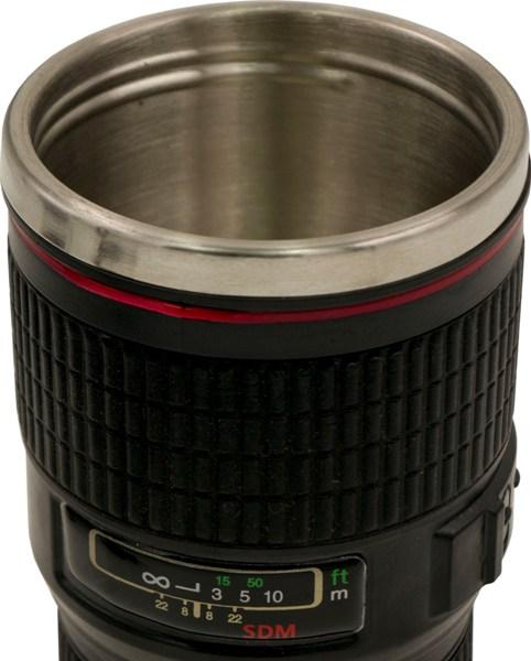 Термостакан-объектив Blende 350 мл - стальное горло