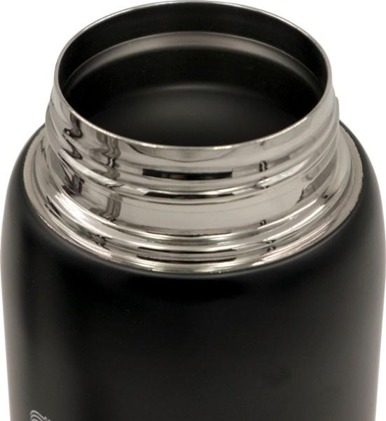 Термос из нержавеющей стали питьевой Speed 750 мл в чехле - стальное горло
