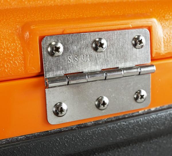 Термоконтейнер Биосталь CB-G-K 45 и 80 литров для продуктов - металлические петли