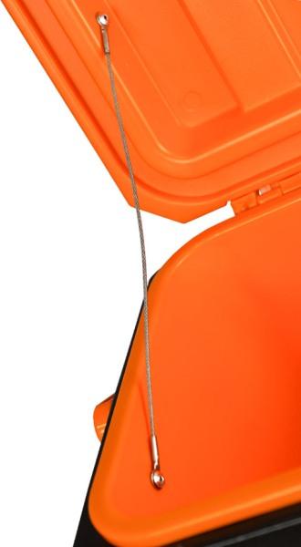 Термоконтейнер Биосталь CB-G-K 45 и 80 литров для продуктов - тросик-ограничитель