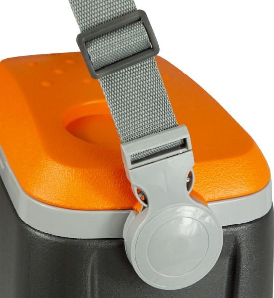 Термоконтейнер Биосталь CB-G-P 8 литров с ремнём - широкий плечевой ремень