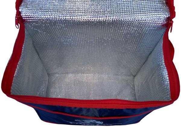 Изотермическая термосумка Golden Days большого объёма - внутренний фольгированный материал